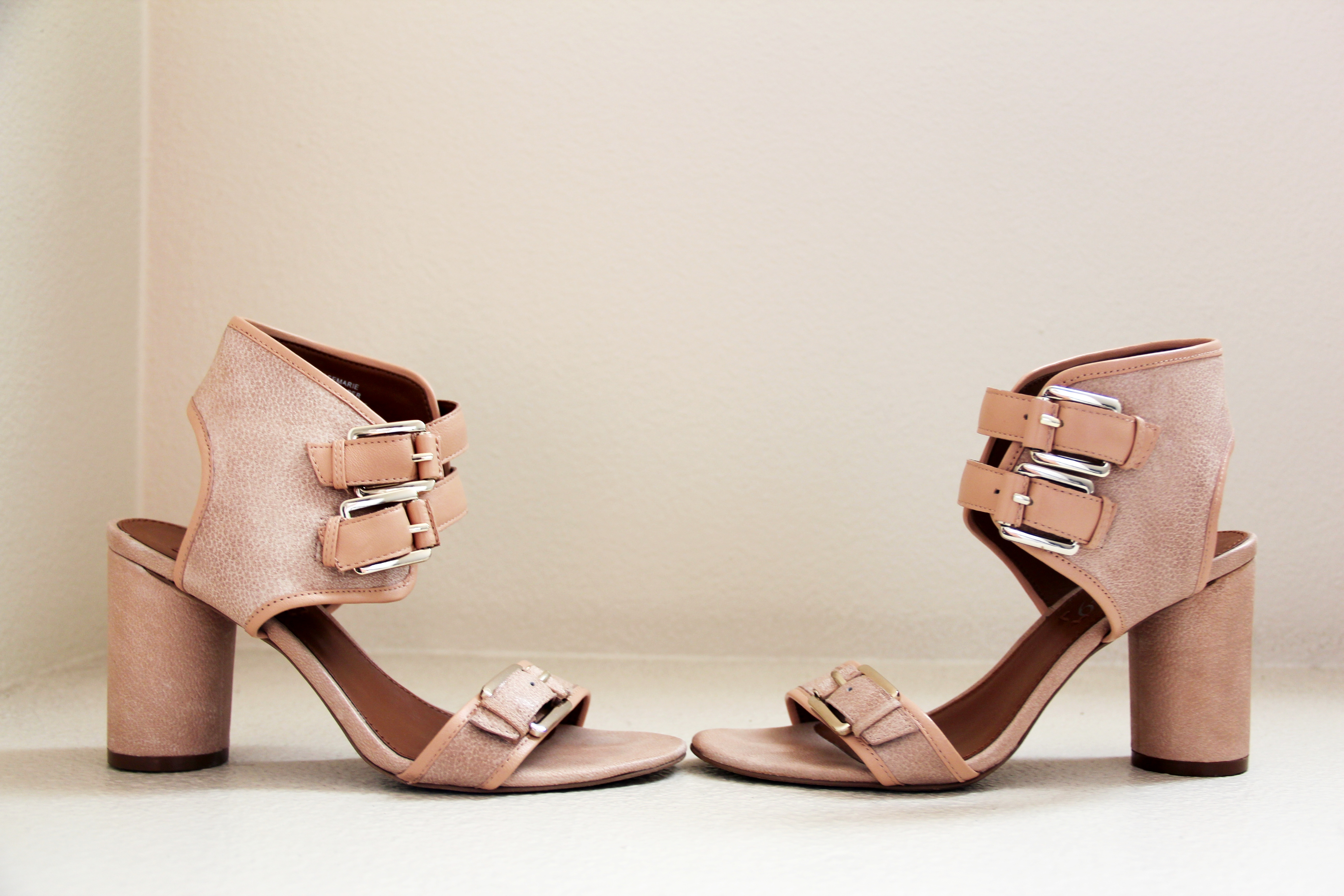 Chunky Sandals With Heels